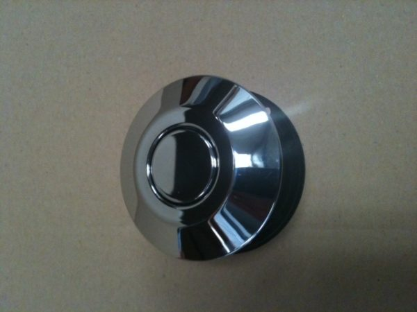 Pneumatic Push Button Large-Chrome