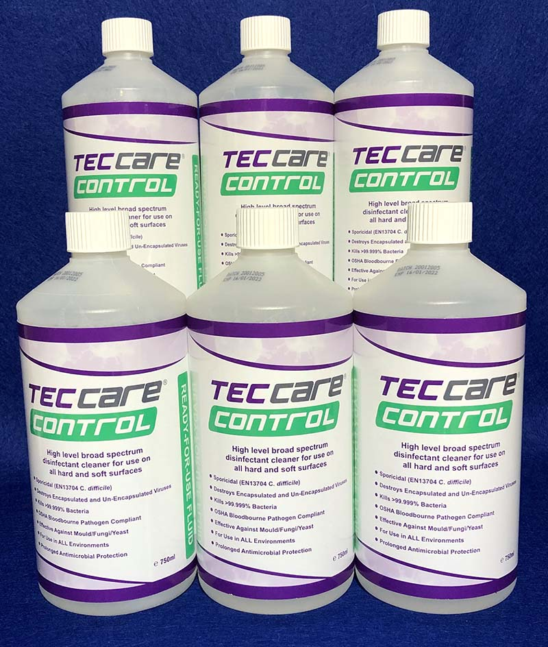 Tec Care Control 6 pack